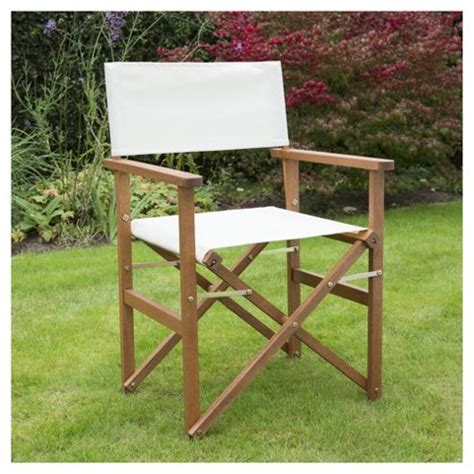 wooden folding directors chair buy wooden folding director s chair from our garden
