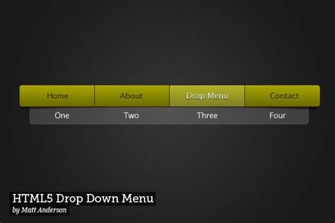 tutorial of css drop down menu 10 css3 drop down menu tutorials css idesignow