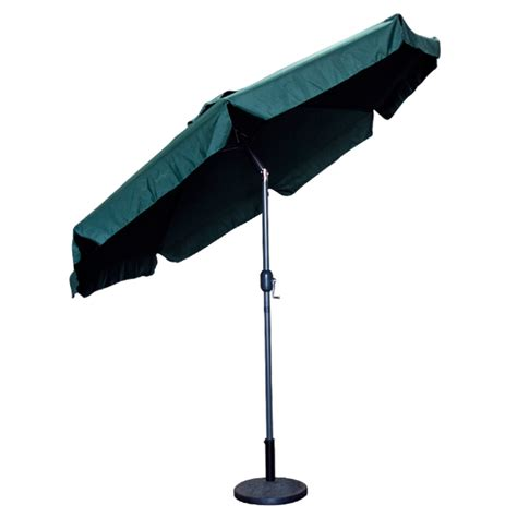 Patio Umbrella Crank Parts 9 Ft Outdoor Patio Umbrella Green Crank Market