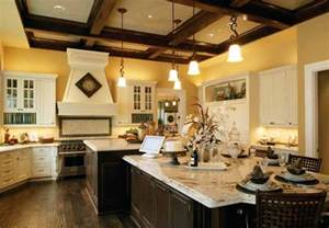 big kitchen island designs home plans with big kitchens at eplans spacious