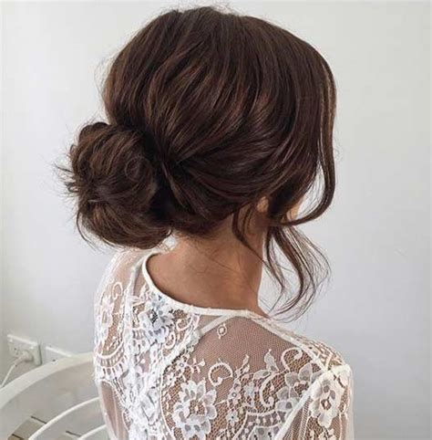 wedding hairstyles long brunette 31 most beautiful updos for prom discover best ideas