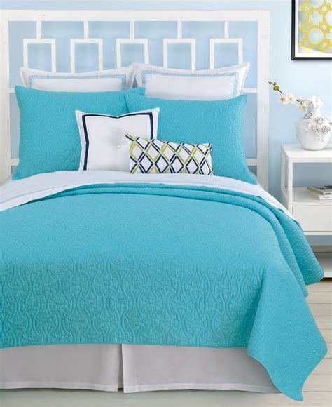 turquoise bed trina turk santorini turquoise bedding collection