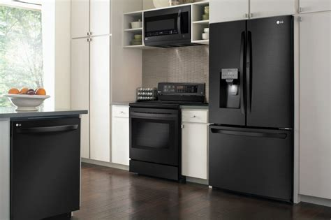 matte appliances matte black stainless appliances for residential pro