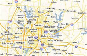 dfw map map of dfw cities pictures to pin on pinsdaddy