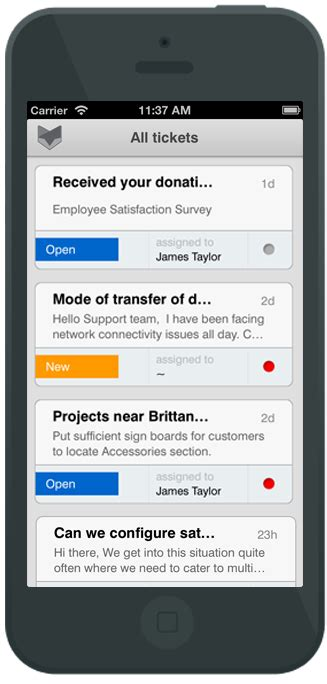 3 mobile help help desk software for non profit ngo and charitable