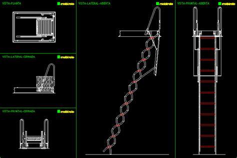 ladder  autocad cad   kb bibliocad