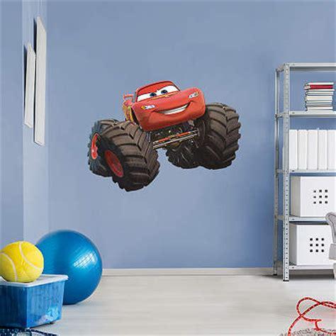 monster trucks lightning mcqueen shop the world of cars wall decals graphics fathead disney