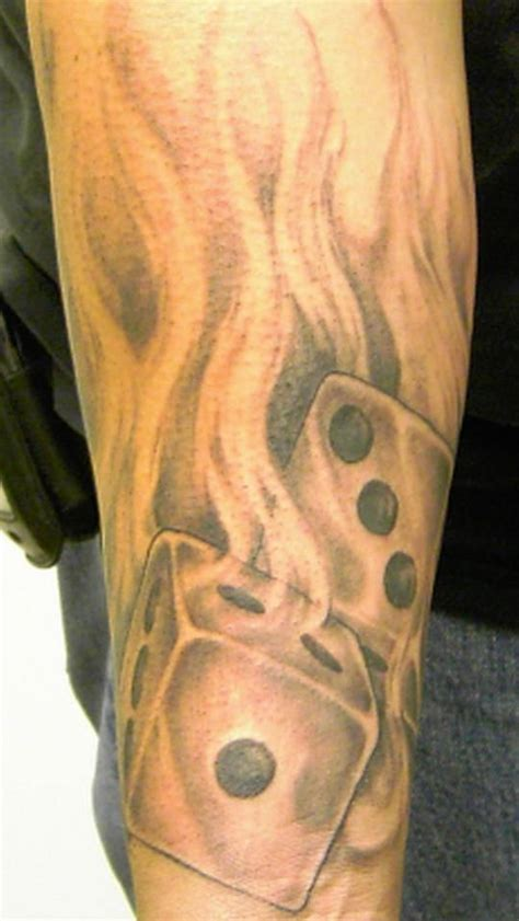 flaming dice tattoo designs 25 best ideas about dice on geometry