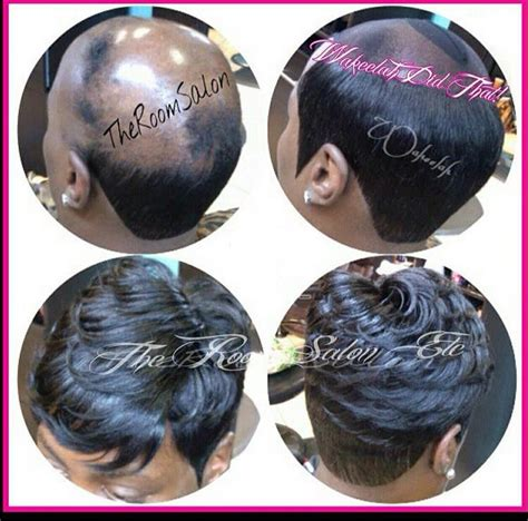 hairstyles for women with alopecia alopecia quick weave pinteres