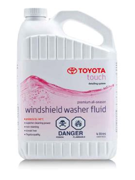 toyota touch windshield washer fluid don valley toyota