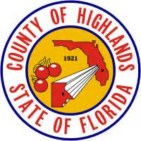 Highlands County Florida Records Highlands County Florida Seal
