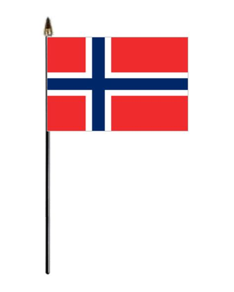 Small Desk Flags Norway Country Hand Flag Small