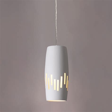 6 Quot Convex Cylinder Pendant Light W Vertical Line Patter Vertical Hanging Lights