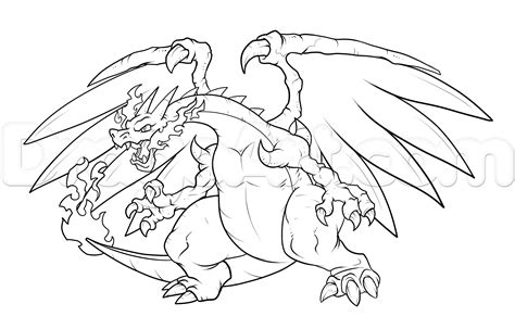 Charizard Ex Coloring Pages mega charizard x coloring page coloring home