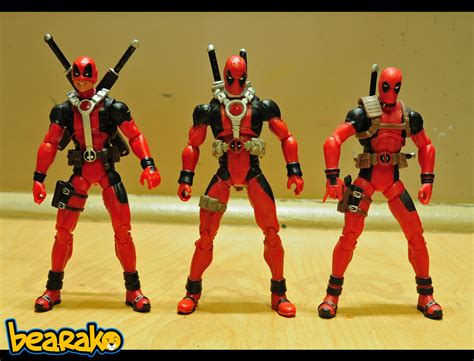 deadpool toys bearako s corner haul xmo deluxe pack deadpool
