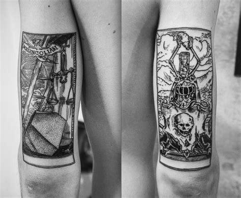 magical tarot card tattoo designs amazing tattoo ideas