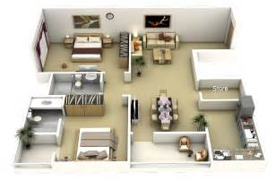 Small House Plan 50 Two Quot 2 Quot Bedroom Apartment House Plans Architecture
