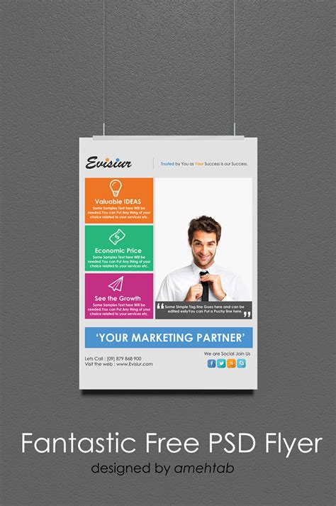 60 Best Free Flyer Templates Psd Css Author Best Free Flyer Templates