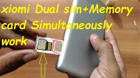 how to make a sim card work in another phone dual sim memory card redmi 3s redmi note 3