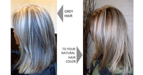 apple cider vinegar hair color grey hair naturally with and acv rinse