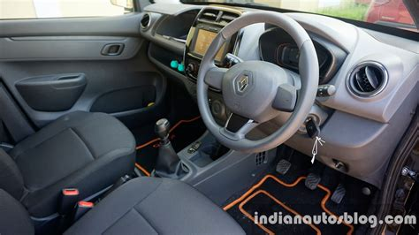 kwid renault interior renault kwid production increased as bookings reach 50 000