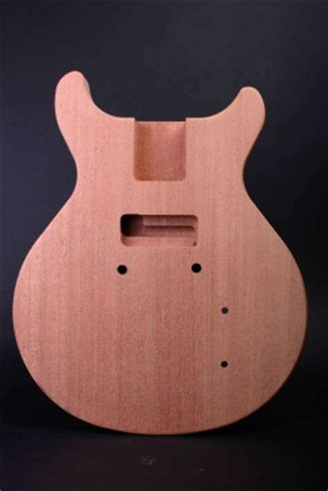 electric guitar kit les paul jr double cut guitar
