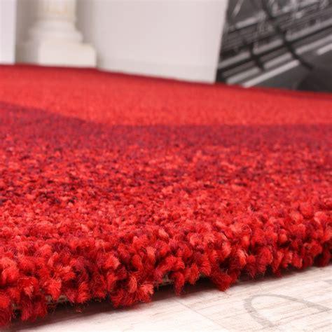 teppich kurzflor rot velours kurzflor teppich winchester modern mit bord 252 re