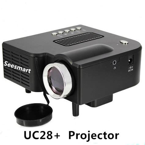 Mini Projector Uc28 Cheap Mini Projector Uc28 Home Theater 1080p 320 240pixels Led Portable Projector High