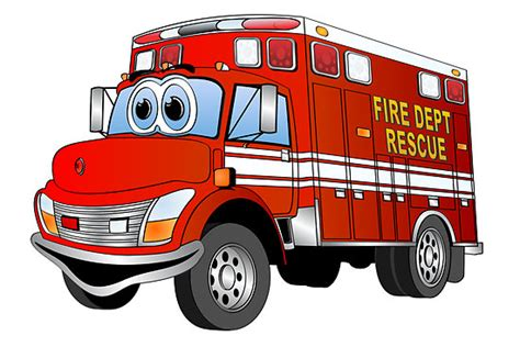 cartoon fire truck clipart clipground