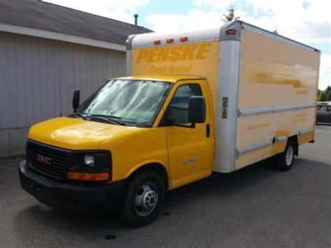 auto air conditioning repair 2007 gmc savana 3500 instrument cluster find used 2007 gmc savana 3500 1 ton box truck cargo van in traverse city michigan united