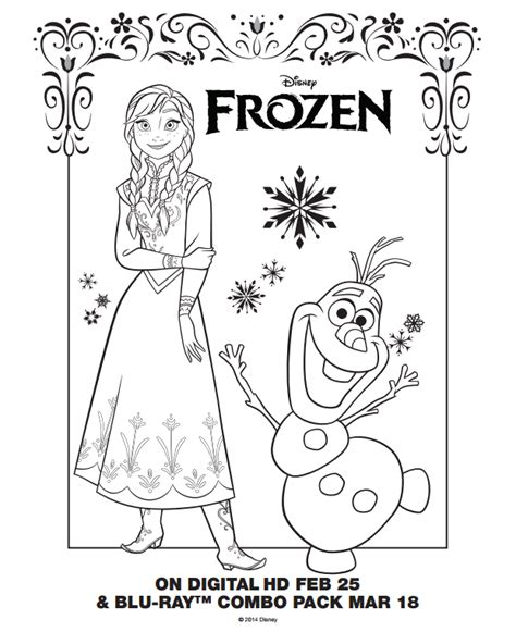 frozen coloring pages elsa pdf frozen coloring pages only coloring pages