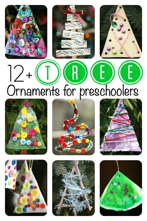 decorations for preschoolers to make tree ornaments for toddlers and preschoolers to make