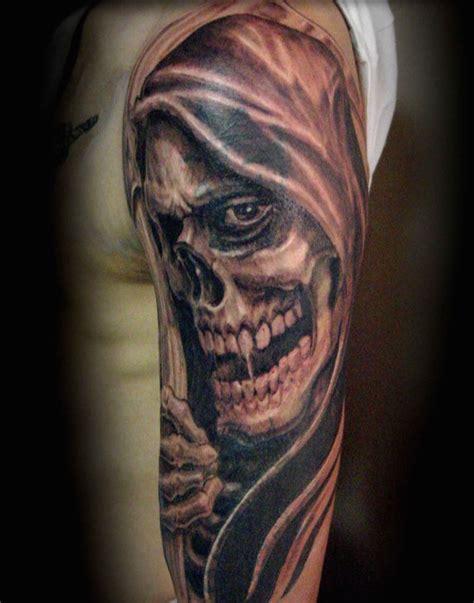 tattoo pictures grim reaper grim reaper tattoos designs meanings inkdoneright com
