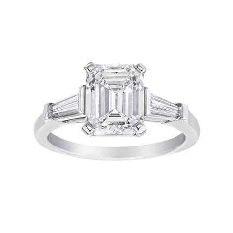 estate harry winston 3 04 carat emerald cut