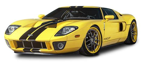 ford car png yellow ford gt car png image pngpix