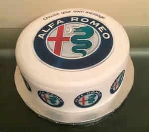Alfa Romeo Cake Alfa Romeo Car Logo Pre Cut Edible Icing Fondant Sugar Topper