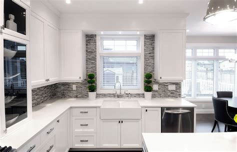 white and grey kitchen ideas white and gray kitchen kitchen colors with white cabinets
