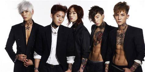 tattoo goo adalah member boyband k pop dmtn positif pemakai ganja