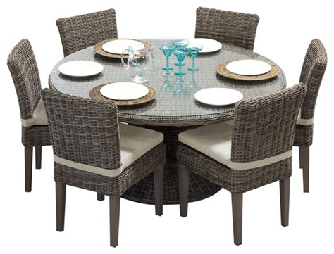 60 patio table set royal outdoor patio table with 6 chairs 60