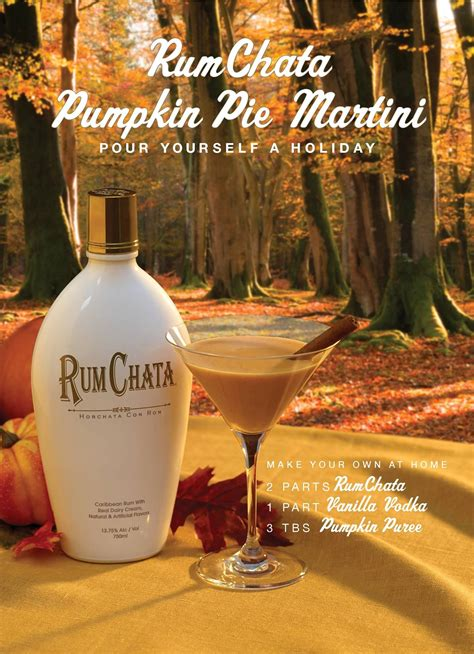martini rumchata pumpkin martini rumchata