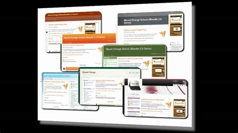 moodle new themes new themes in moodle 2 0 free tutorial