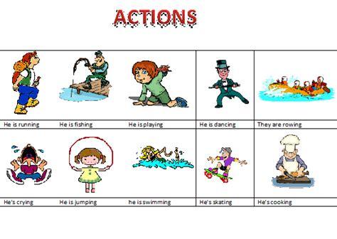 imagenes en ingles de acciones ingles escuela n 186 2 d e 19