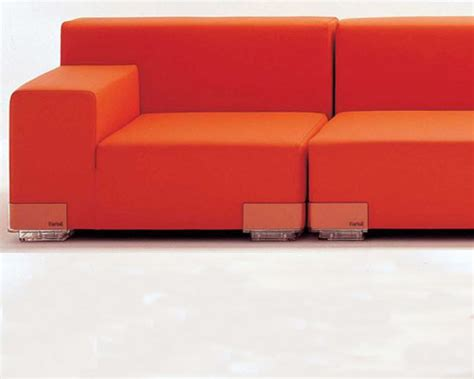 plastic on the couch kartell plastic sofa surrounding com