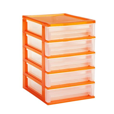 Organizer Drawers by 5 Drawer Desktop Organizer The Container Store