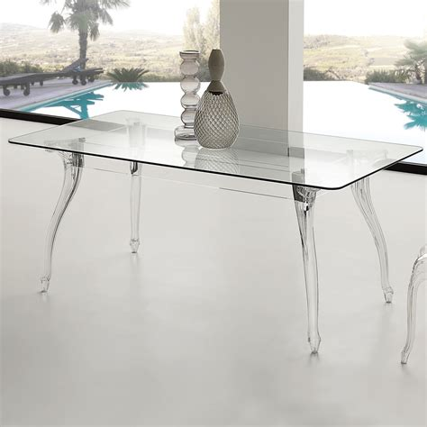 tavoli da pranzo design tavolo da pranzo design moderno con piano in vetro