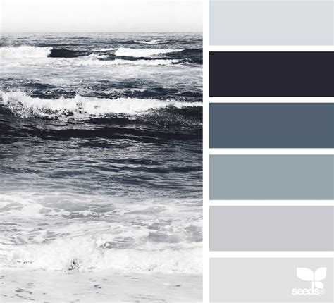 grey color schemes best 25 ocean color palette ideas on pinterest ocean