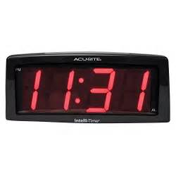 buy digital clock acurite 13003 7 inch digital alarm clock kitchen in the uae see prices reviews and buy in