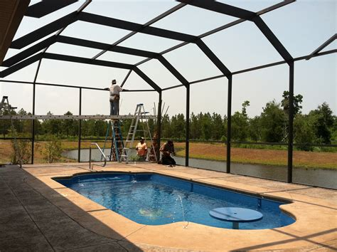 what is a lanai in a house lanai patio enclosures all seasons roofing nc
