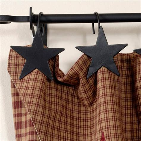 black star shower curtain hooks pin by courtney white on all things prim pinterest