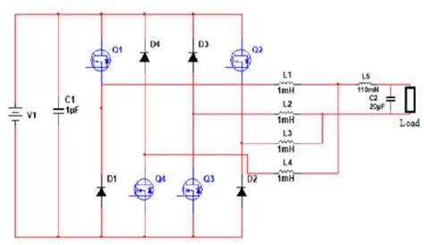 backward diode schematic inverter circuit diagram without fly back diode